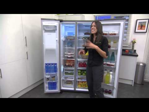Samsung Food ShowCase RH57H90307F SS American Fridge Freezer