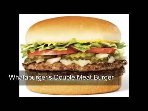 America's Top 10 Fast Food Hamburgers