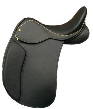 Wholesale New Durable Real Leather Comfortable Horse Saddle