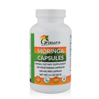 Top Selling Moringa Capsules Natural Supplement Wholesale