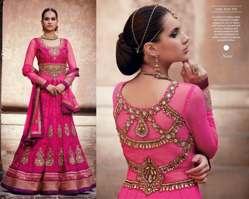Graceful Designer Long Anarkali Wedding Wear With Heavy Work