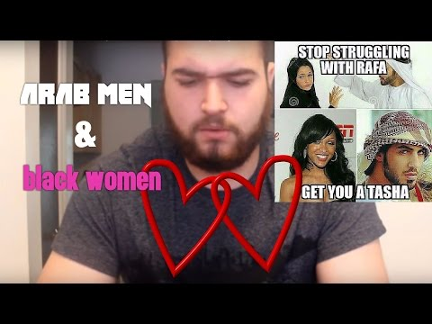 Middle eastern men and black women