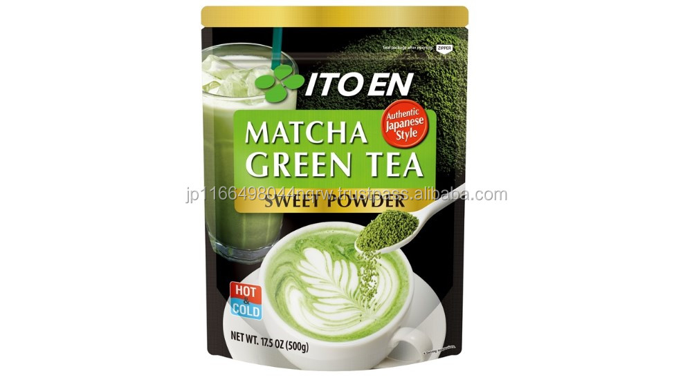 Authentic ITOEN matcha green tea powder with suger for yogurt