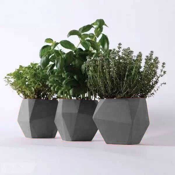 Concrete Flower Pot Molds Concrete Flower Pot Square