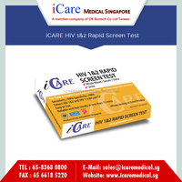 Home, Hospital and Professional Use HIV 1&2 Rapid Test Kit