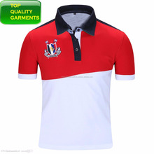 Mens Boys White Red Polo Shirt Pique Casual Fit Collar Plain Embroidered Short-Sleeve High Quality T-Shirt OEM ODM Customize
