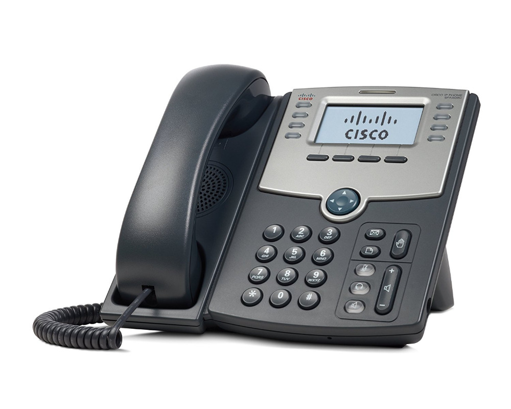 CISCO SPA508G 8-line Unified VoIP Ip Phone
