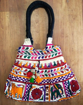 37c9c82da298 Vintage Indian Traditional Kutchi Wholesale Banjara Style Jaipur Handmade  custom canvas tote Ladies Handcrafted Designer Purse