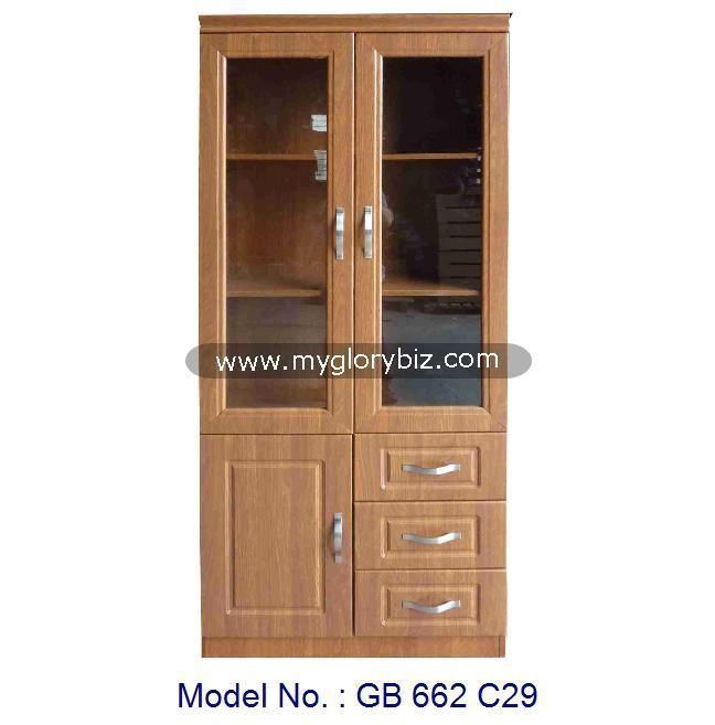 2 porte en bois bon march biblioth que pour meubles de. Black Bedroom Furniture Sets. Home Design Ideas