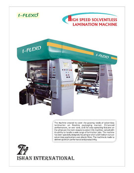 LAMINATION SOLVENTLESS MACHINE