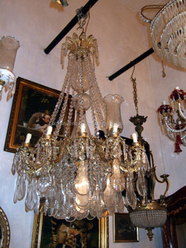 Georgian Style Waterford 12 Light