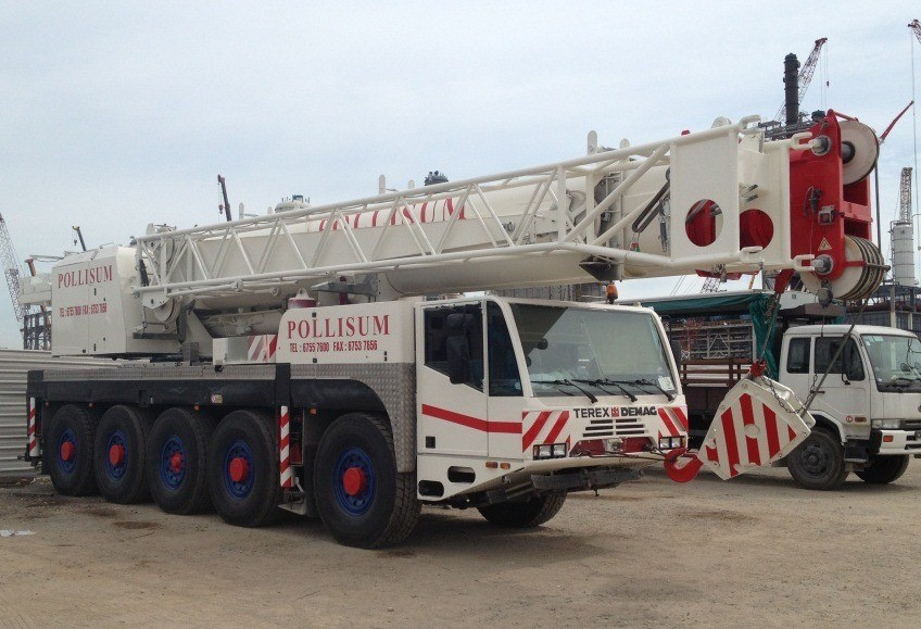 Demag Ac100 : 100t Mobile Crane At Very Good Price (used) - Buy Mobile  Crane Product on Alibaba com
