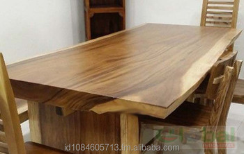 Live Edge Suar Wood Dining Table Slab Reclaimed