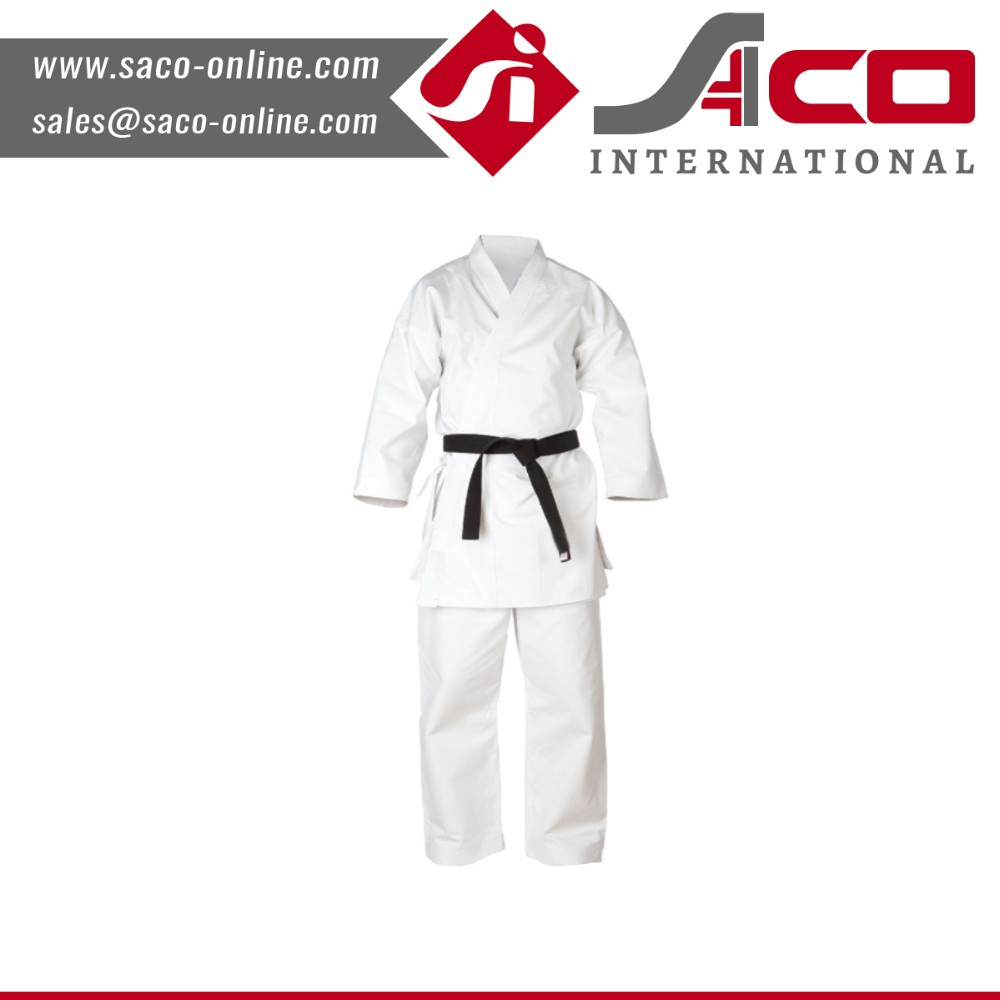 SI Factory Supply White kids judo uniforms