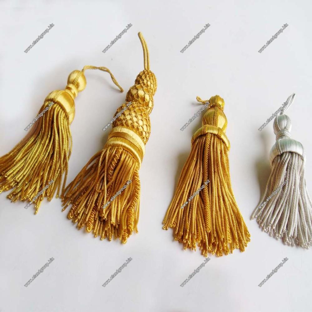 Bullion Tassels Supplier | Decorative Gold Bullion Tassel ...