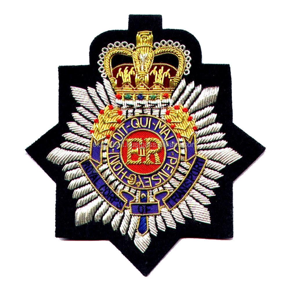 Police cap badges ga rel hat badges page 1 garel - Royal Canadian Air Force Gold Bullion Hand Embroidery Cap Badge Patch Crest Emblem