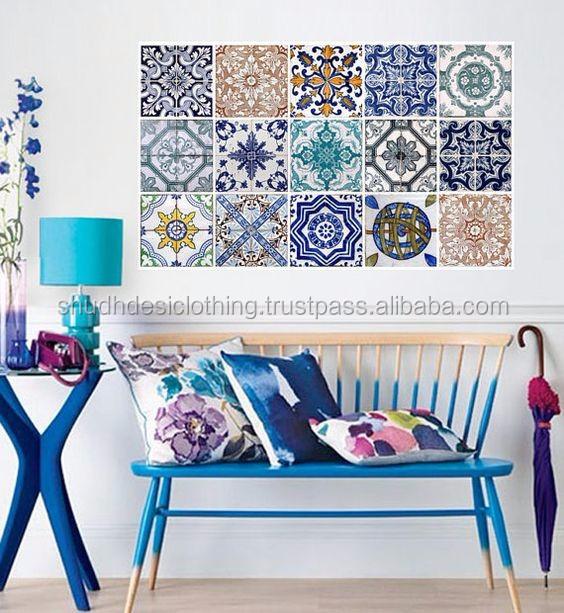 Shop Online Jaipur Blue Pottery Tiles For Wall Decor