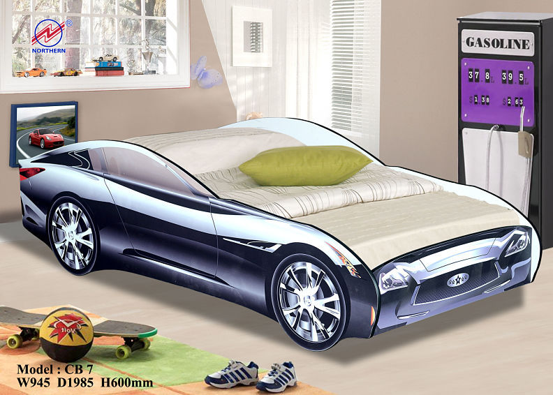 Hot Sale Cool Boy Car Bed