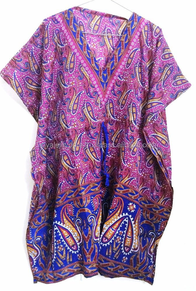 Kaftan African Boho Hippie Dashiki Gypsy Tunic Caftan Poncho Casual Dress Top
