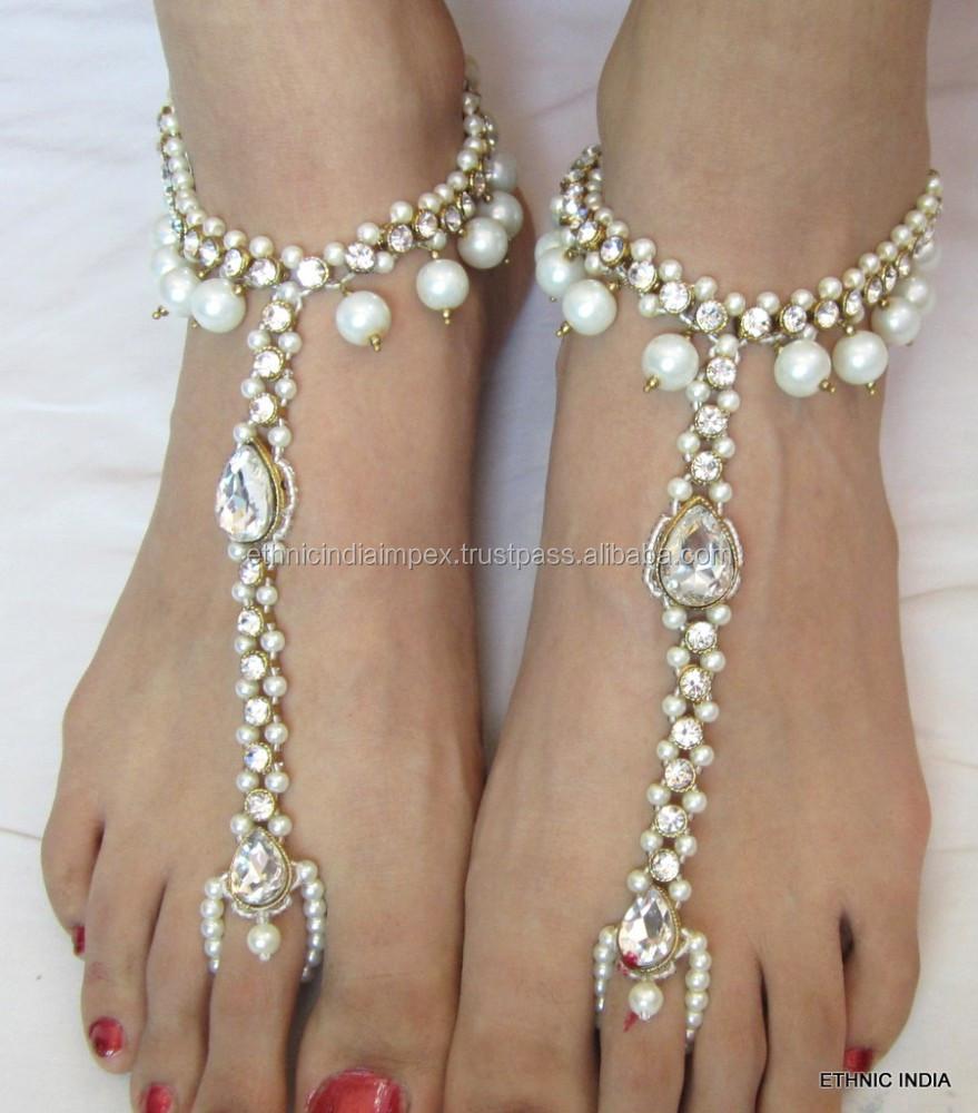 India Wedding Barefoot Sandals, India Wedding Barefoot Sandals ...