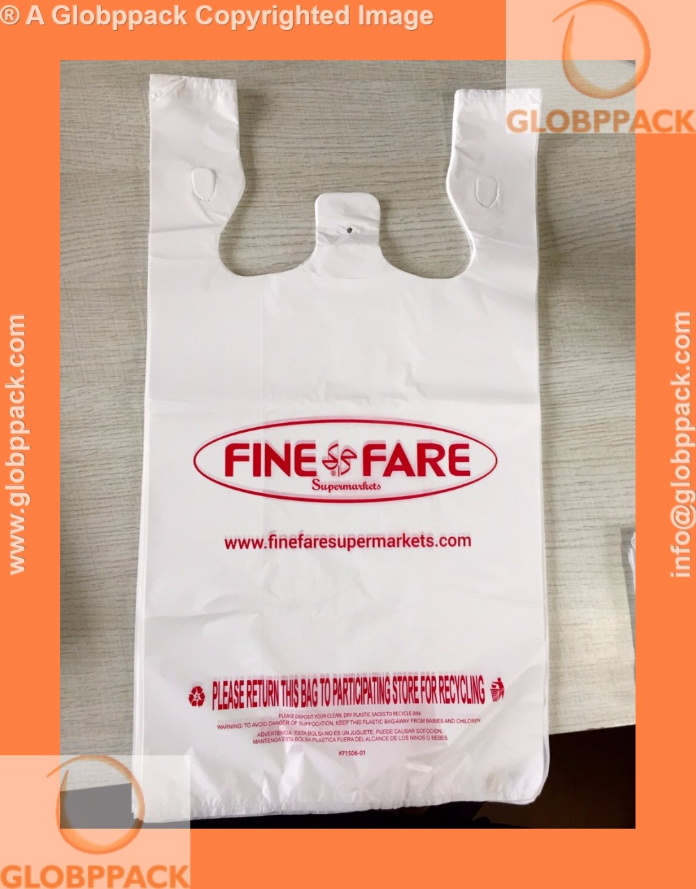 Clear fruit packing custom printed plastic t shirt bags for Clear shirt packaging bags