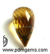 Citrine Gemstone Teardrop Cut Faceted Gems From Manufacturer