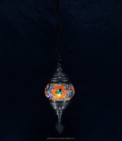 Best Quality Turkish Mosaic Hanging Lantern Lamp Decorative Morocco Chandeliers Pendant