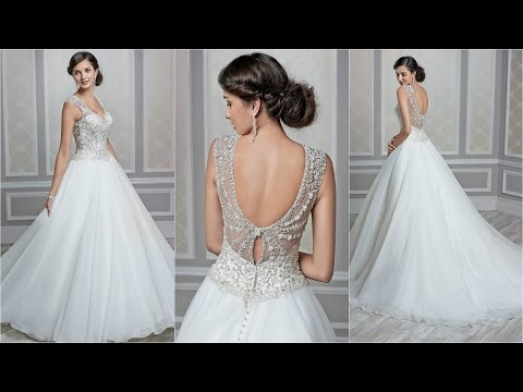 Tulle Wedding Dress | Vera Wang | Wedding Dresses | Bridal Dresses | Sexy Wedding Dresses | WD50