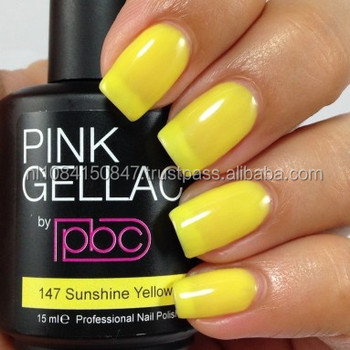 Color147 Sunshine Yellow Private Label Professional Gel Nail Polish Gel Polish Uv Led Gel Polish Salon Quality Buy Gel Polish Uv Gel Sunshine Yellow Color Product On Alibaba Com