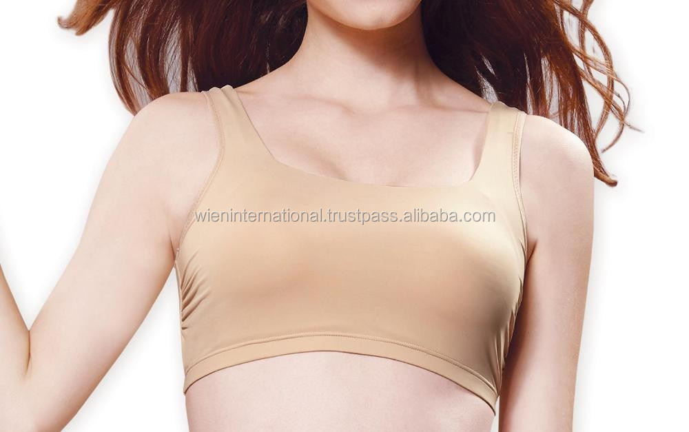 Good fitting, non wire, camisole bra with Vitamin E and Aloe vera