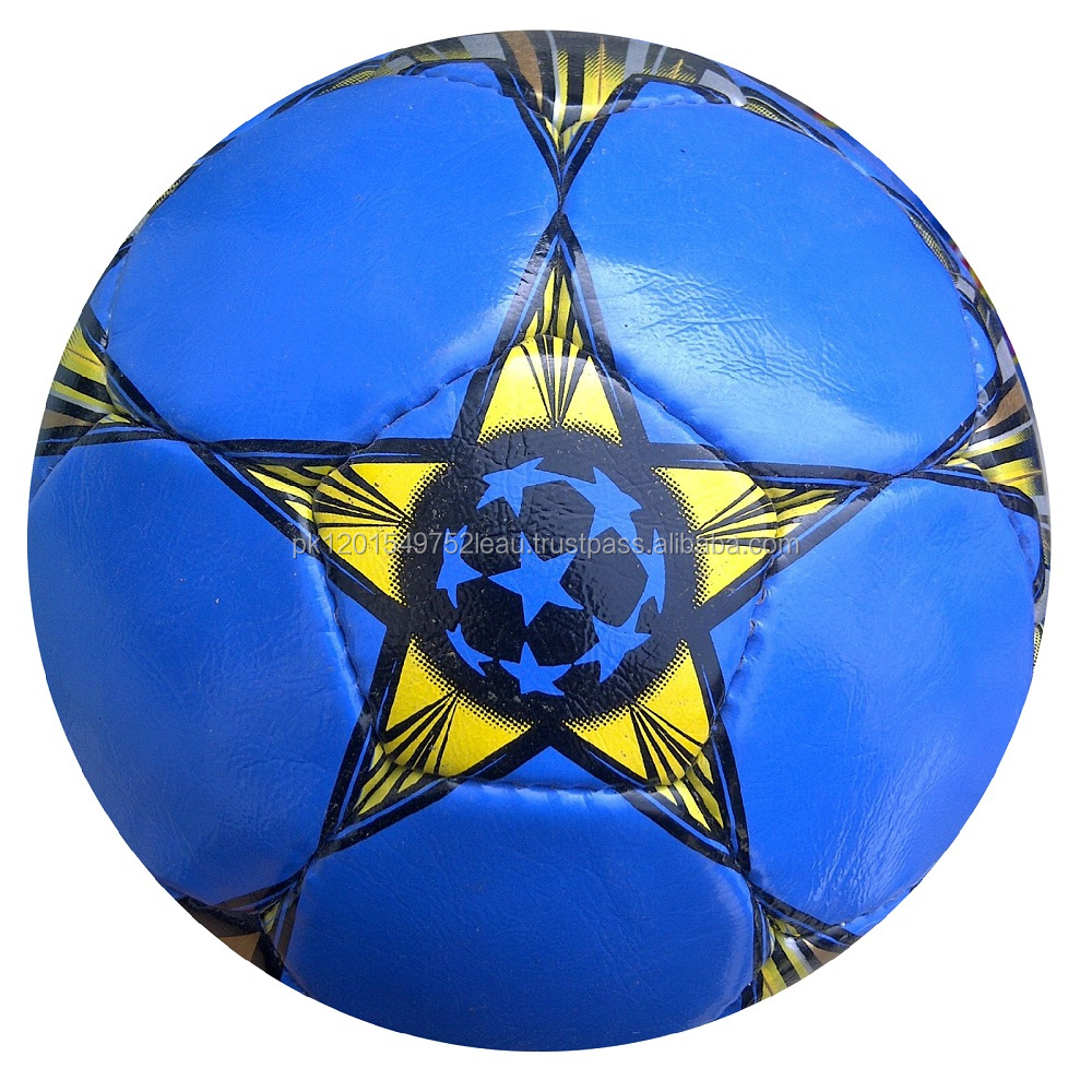 Latest Special Football/Soccer Ball (G-14 Shine Texture 1.8 mm Material Hand Swing 32 Panels dark Blue Color)