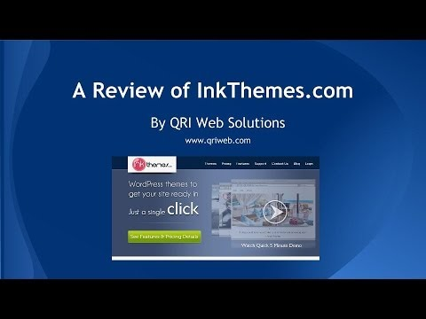 InkThemes Review | Build an affordable and professional website