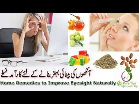 Improve Eyesight Naturally In Urdu and English
