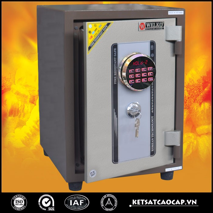 High quality fireproof storage boxes safes for home made in VietNam- 80D E