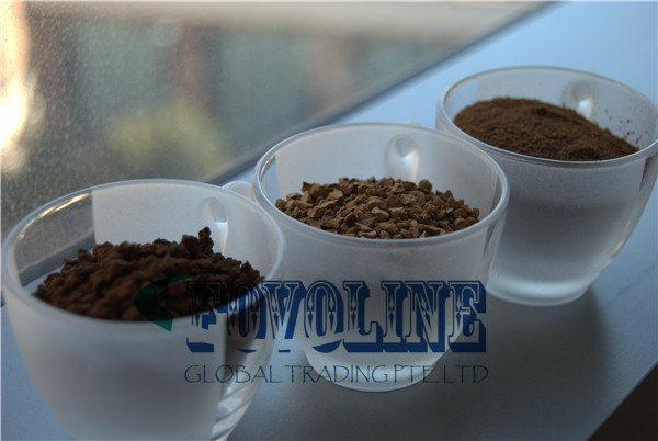Agglomerated Instant Coffee Powder For 3 In 1 Coffee