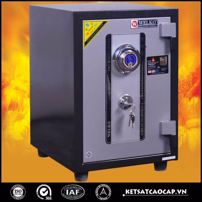 High quality fireproof safes for home made in Vietnam - 80S DK