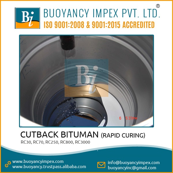 cutback Bitumen mc30 and MC 3000 in palletized drums packing