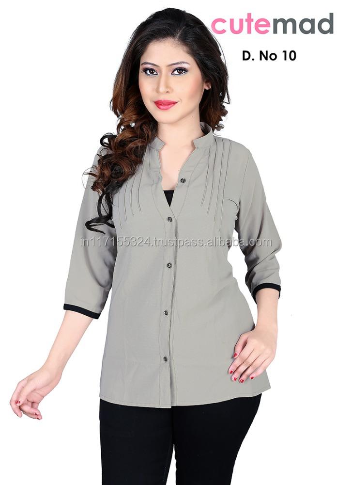800a221d365b82 Latest Office Wear Tops Online Clothing Designer Fashion Fancy Kurti Style  Design 2015 - Buy Latest Office Wear Tops Online Clothing Designer Fashion  Fancy ...