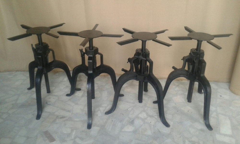 Industrial Drafting Table Base Crank Collection