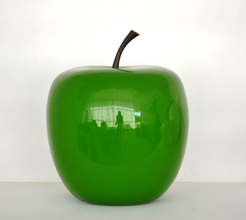 Apple for home and garden decor buy decorative golden for Apple home decoration
