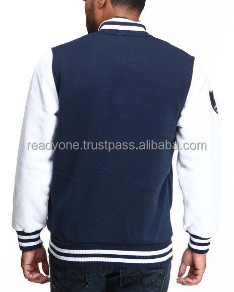 Unisex American Style Baseball Jackets Varsity Letterman ...