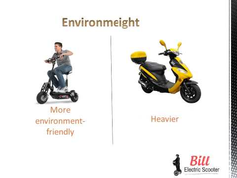 Difference Between Electric Scooter and Gas Scooter