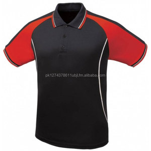 Cheap Wholesale Custom Made Polo With Piping Work Polo Shirt