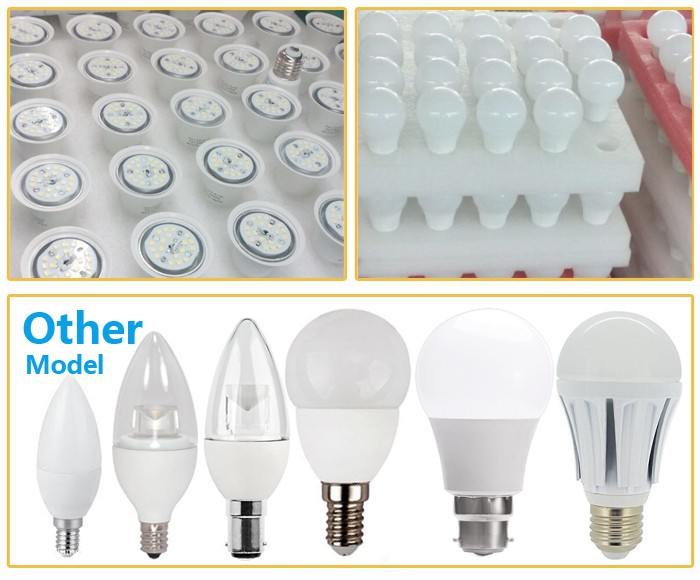 Dimmable 2700k Warm White Household Led Light Bulbs 9w Equal 60w ...