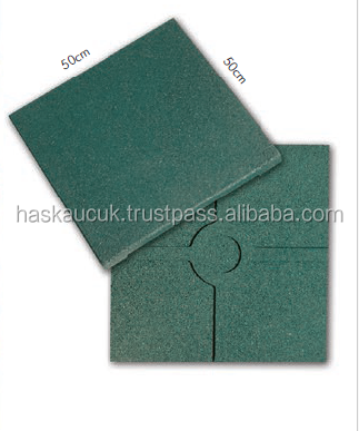 50*50 2.5 cm (Full Plate) Safety RUBBER FLOOR TILES For Outdoor /Playgrounds Hot Sale, High Quality, Non-toxic