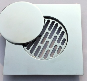 Cast Brchrome Plated Floor Drain Cover