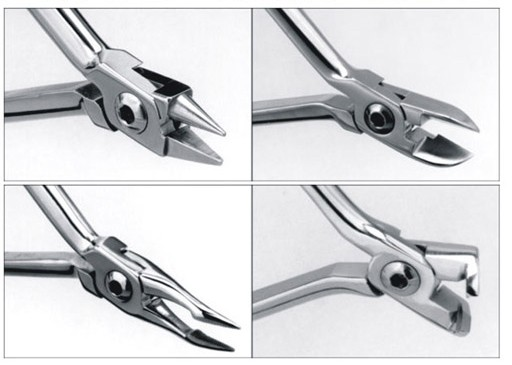 Distal End Cutter Pliers Mini Wire Cutters Orthodontic Dental Instruments 1104