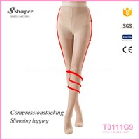 Woman'S Brand New Leg Shaping Light-Weight Spandex Seamless Pantyhose