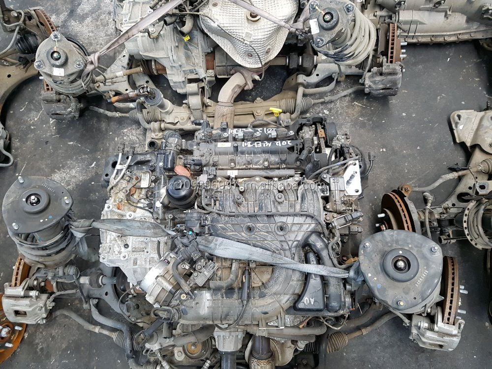 Quality Korean Used Auto Engine Assembly