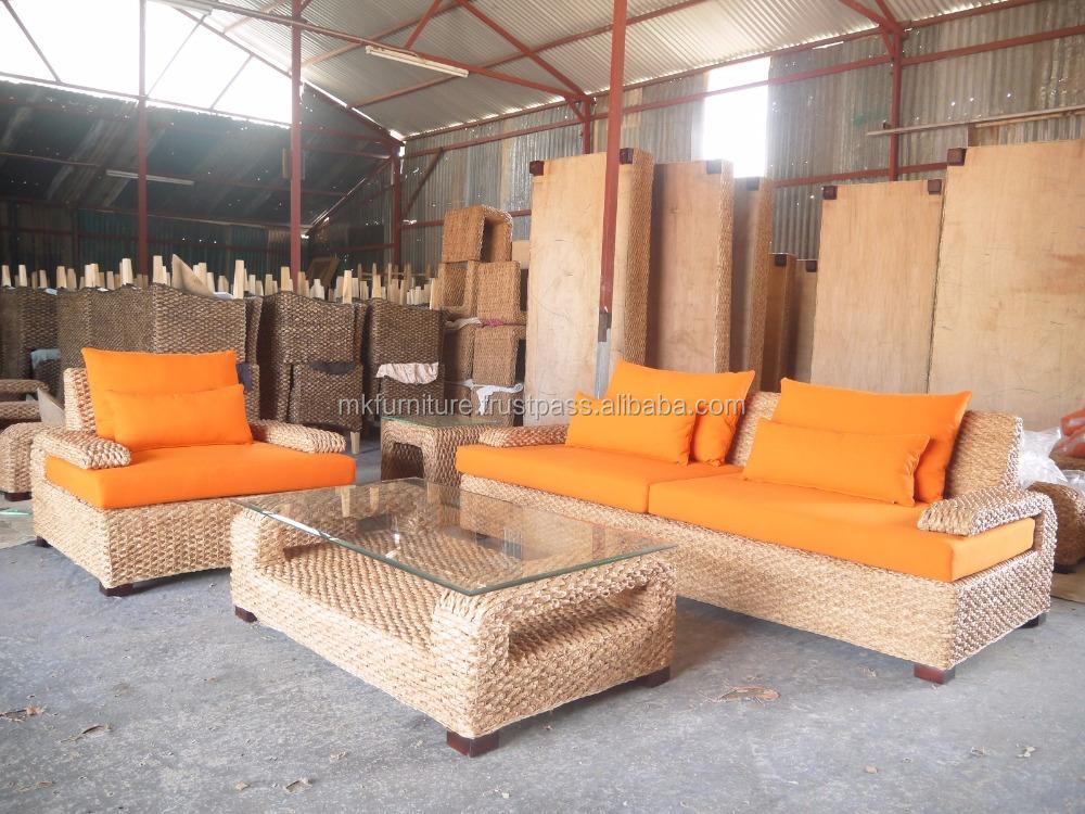 Sillones de madera para sala for Muebles de sofa